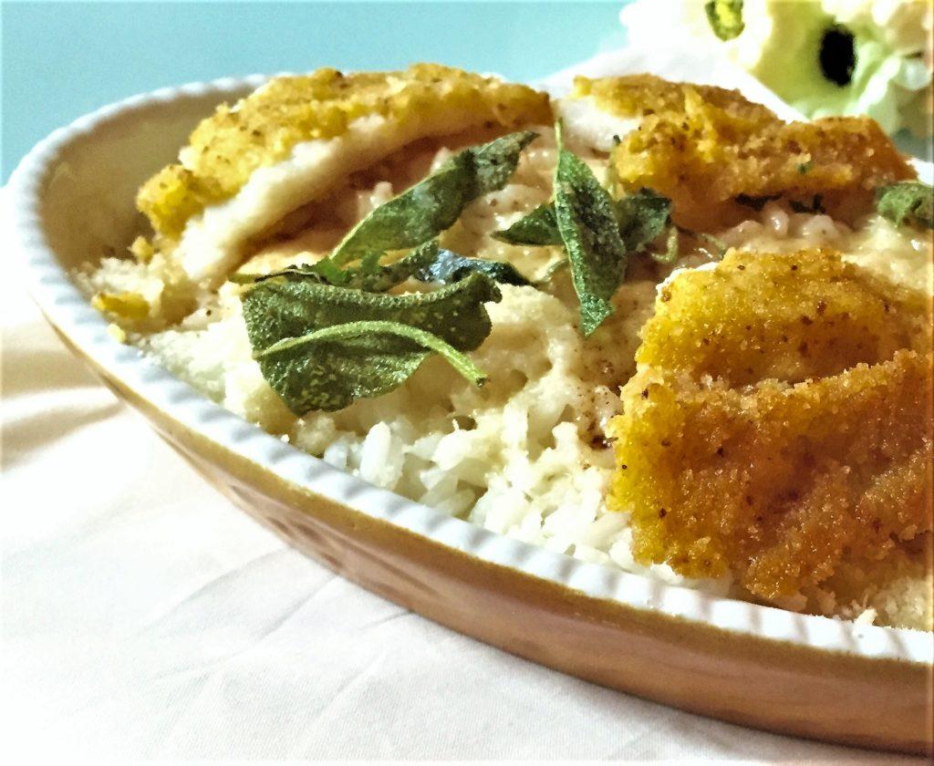 riso e pesce persico