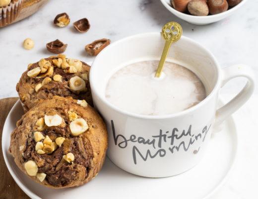 muffinalla nutella e nocciole