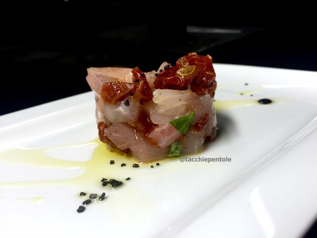 tartare di pesce persico