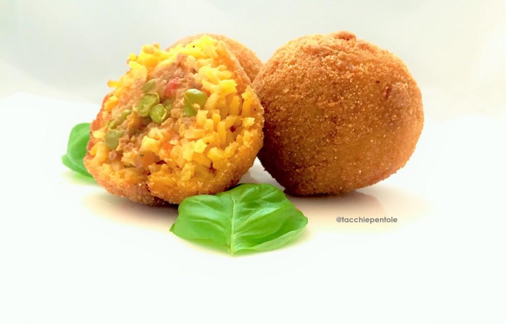 arancine alla sicialiana