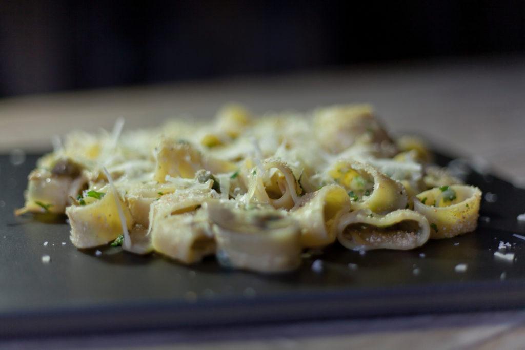 Calamarata con Valtellina Casera dop