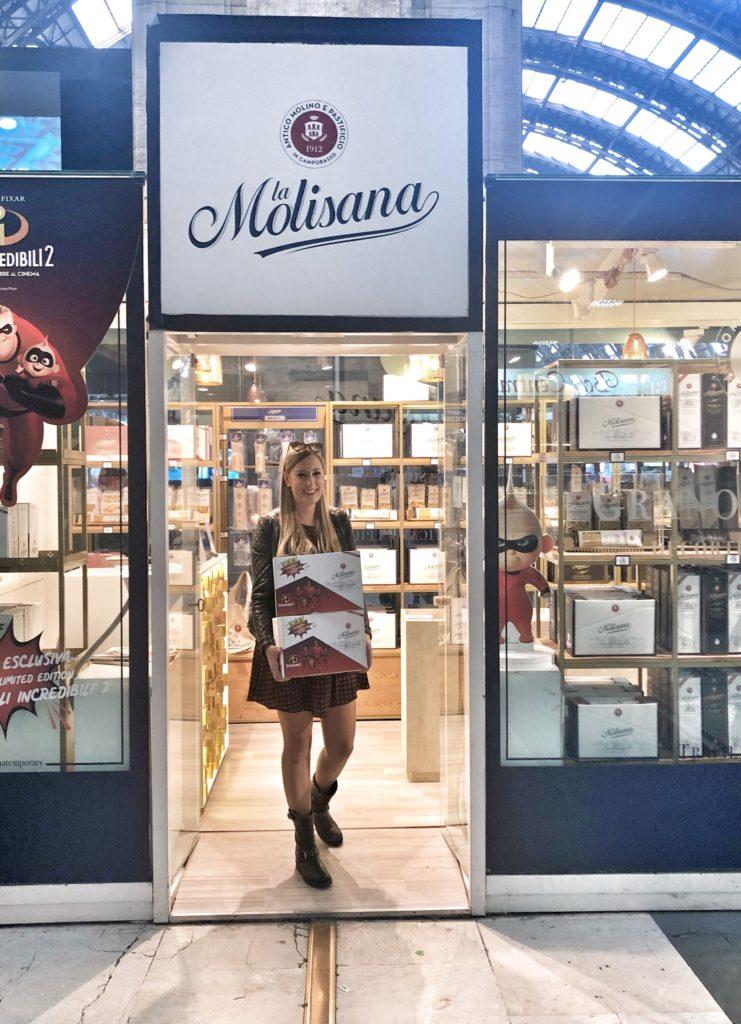 TEMPORARY STORE LA MOLISANA A MILANO