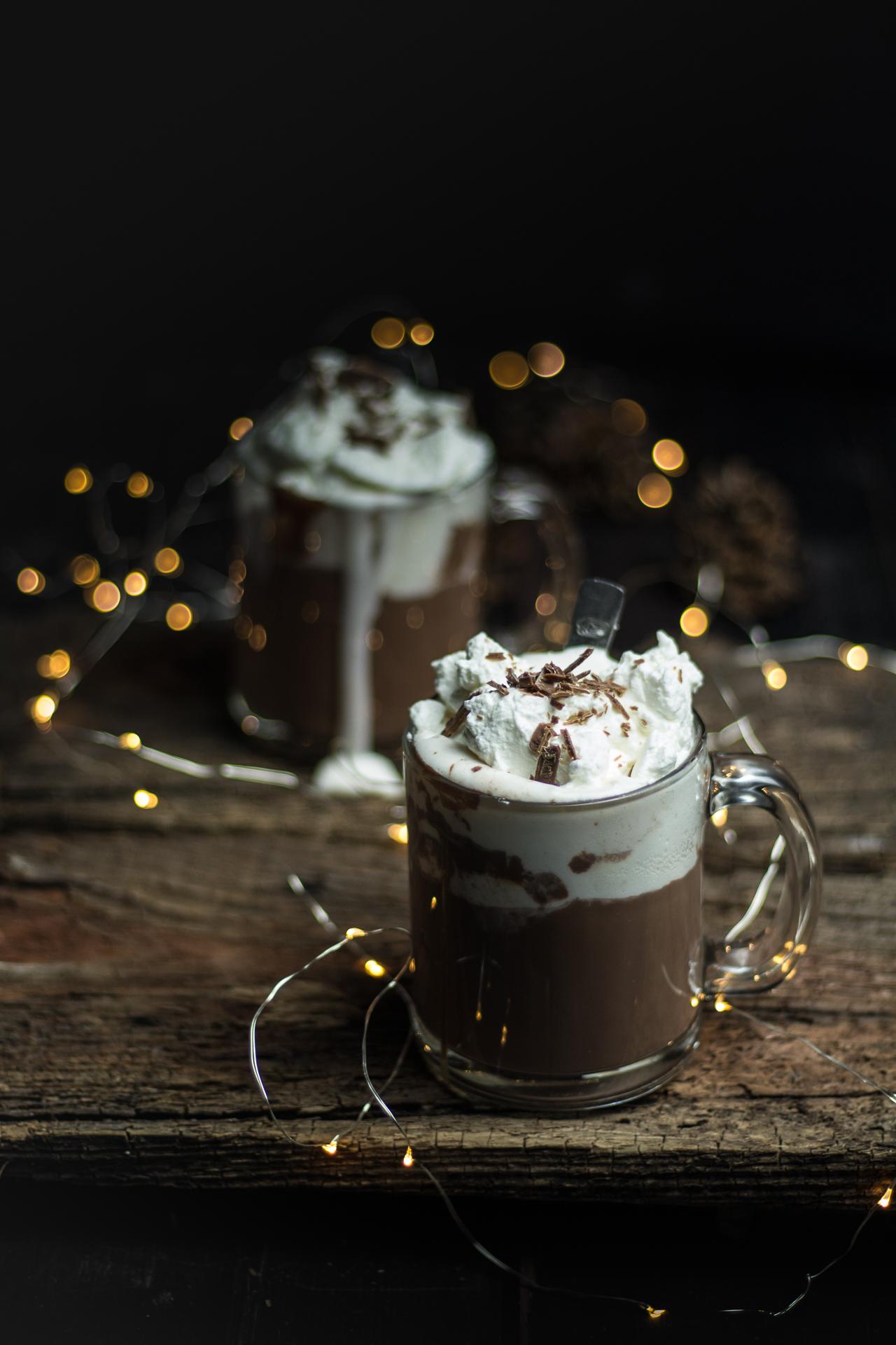 Cioccolata calda fatta in casa senza busta