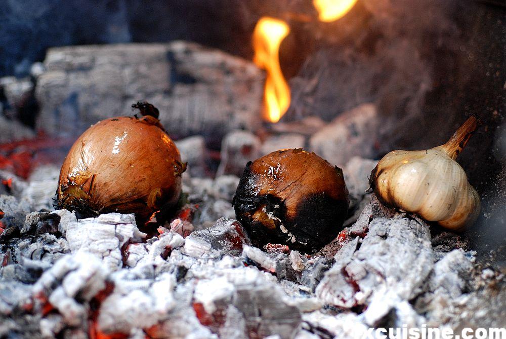 ember roasting