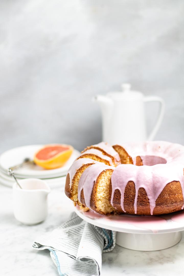 BUNDT CAKE AL POMPELMO ROSA
