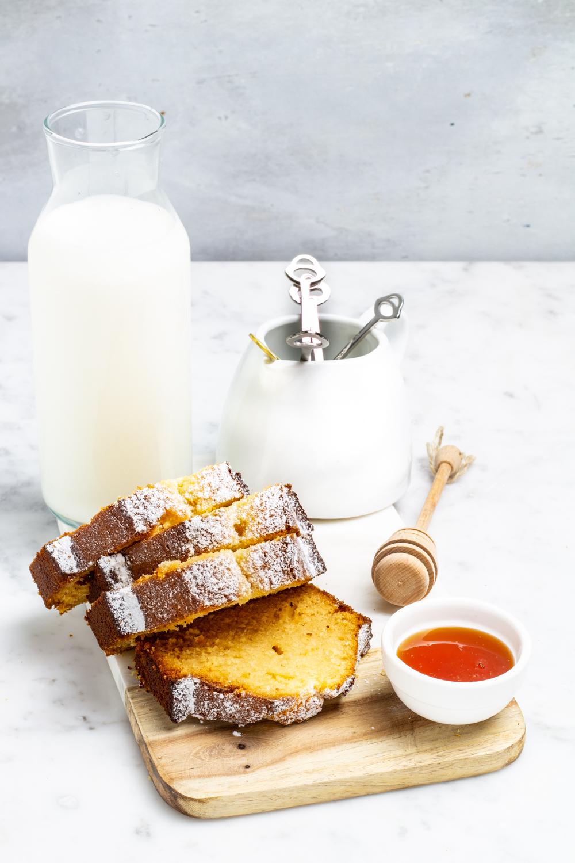 Plumcake al latte e miele