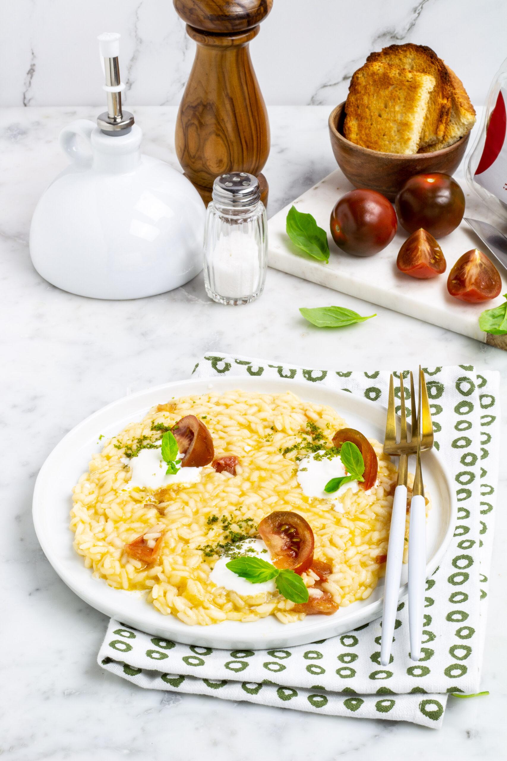 risotto con pomodoro iLcamone
