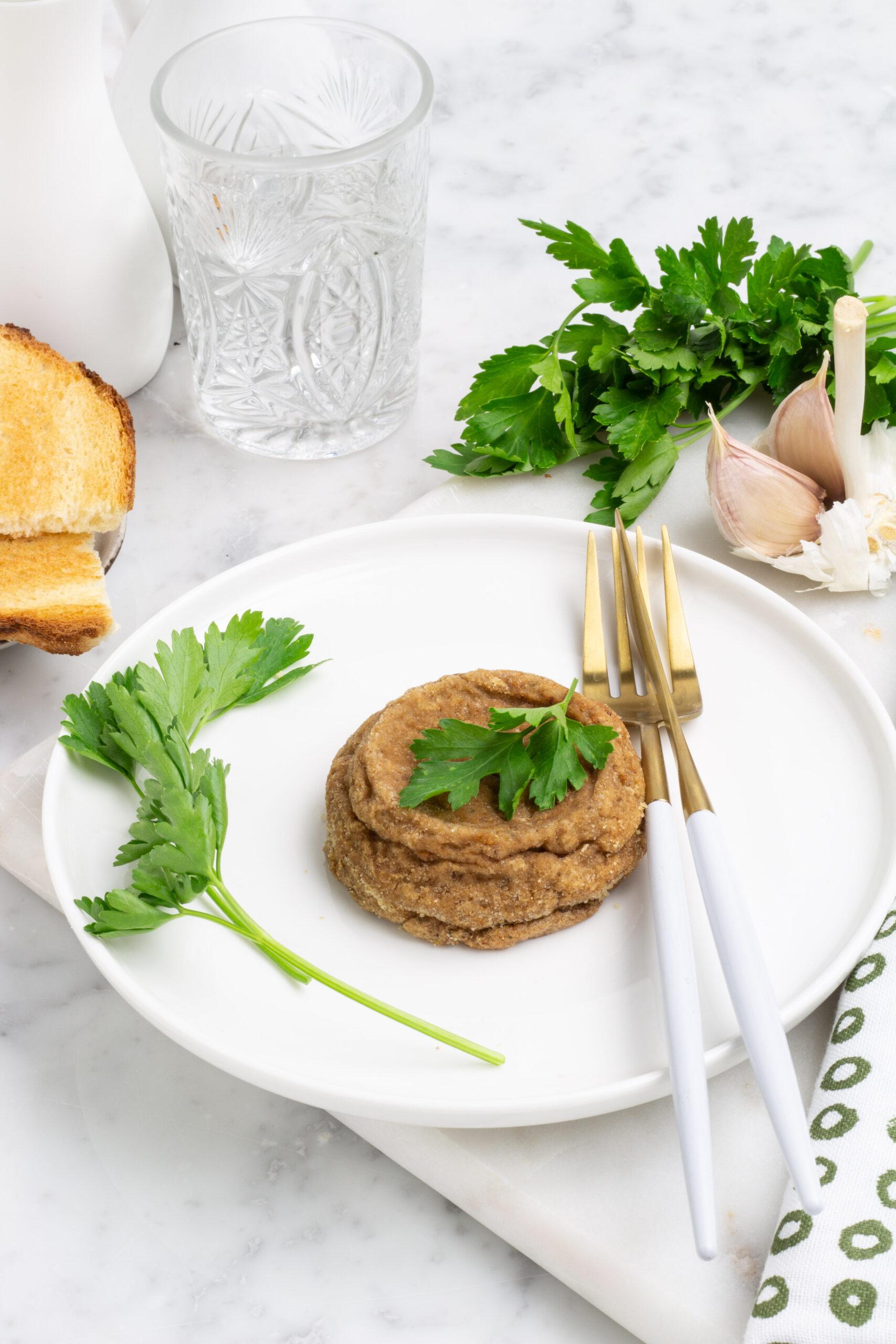 Sformato di funghi porcini secchi e patate