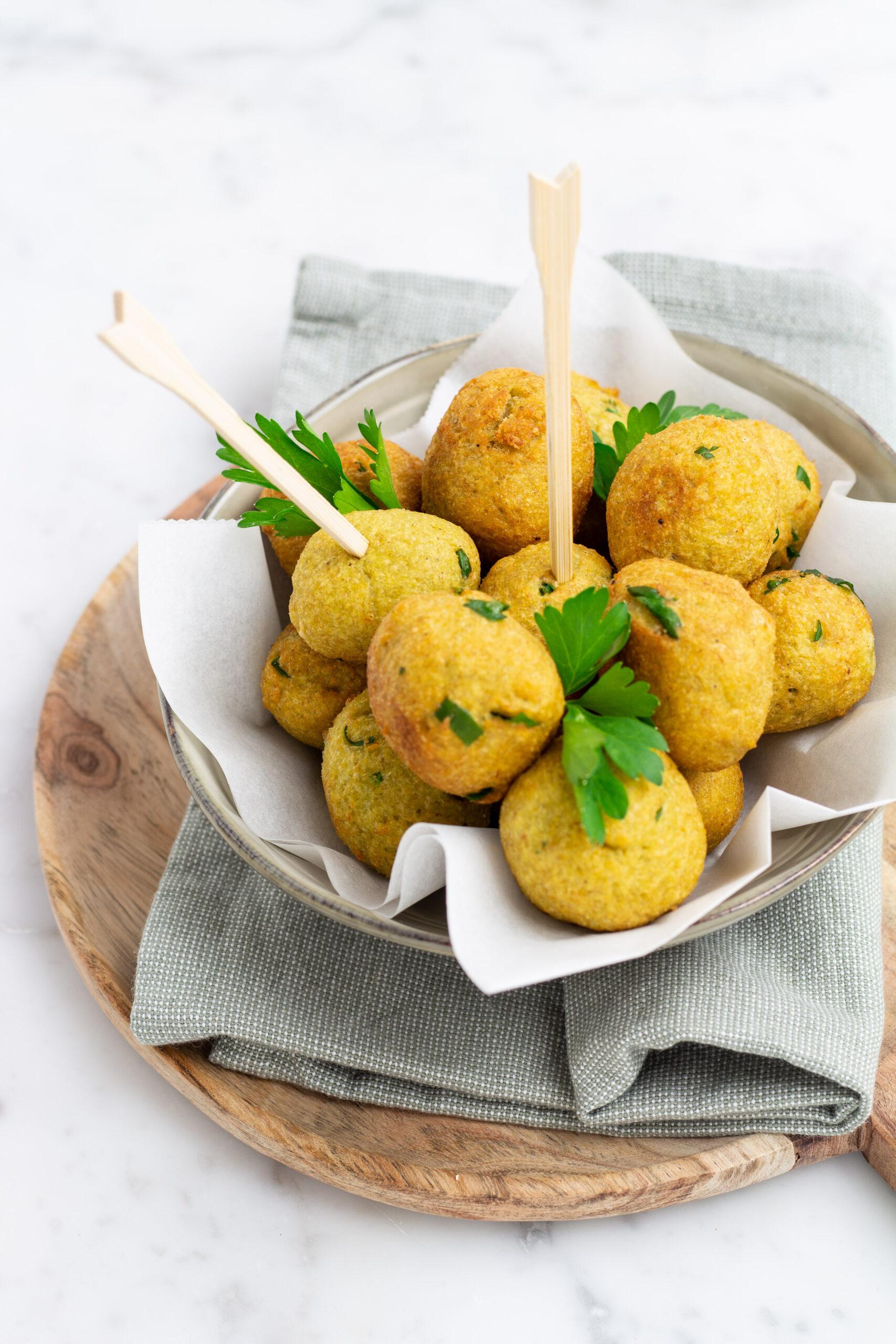 crocchette con gambi di asparagi